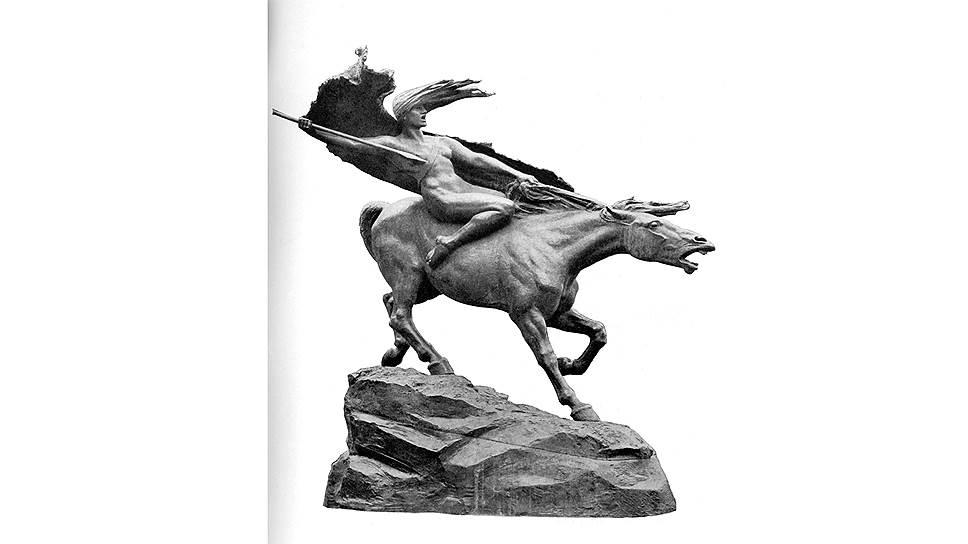 """Стефан Синдинг. """"Валькирия"""", 1908 год"""