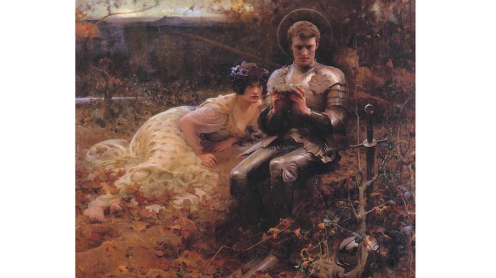 """Артур Хэккер. """"Искушение Парсифаля"""", 1894 год"""