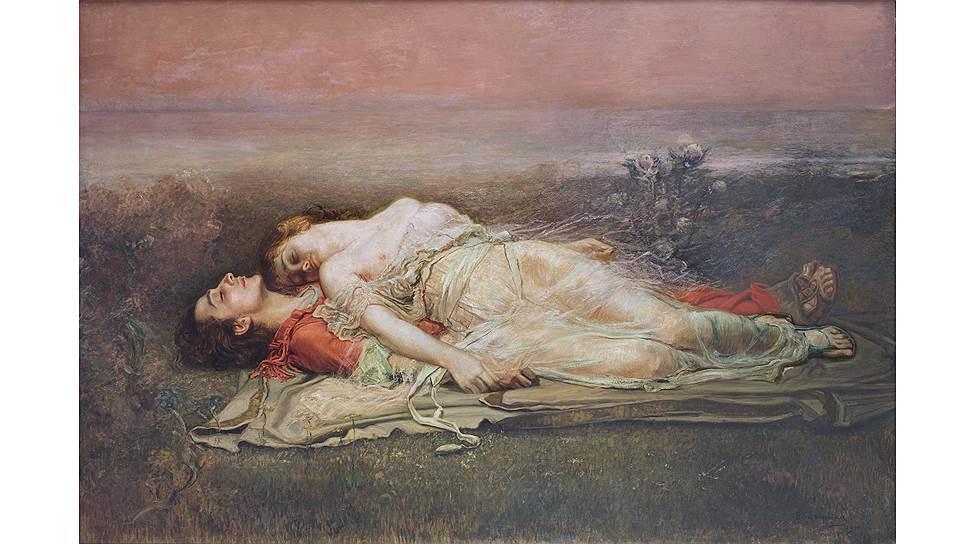"""Рохелио Эгускиса. """"Тристан и Изольда"""", 1910 год"""