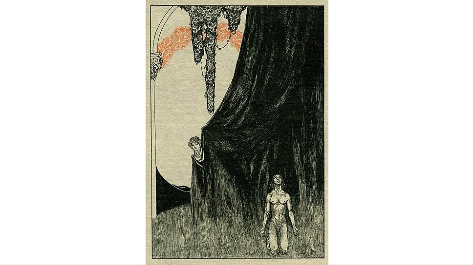 """Вилли Погани. Иллюстрация к опере """"Тангейзер"""", 1911 год"""