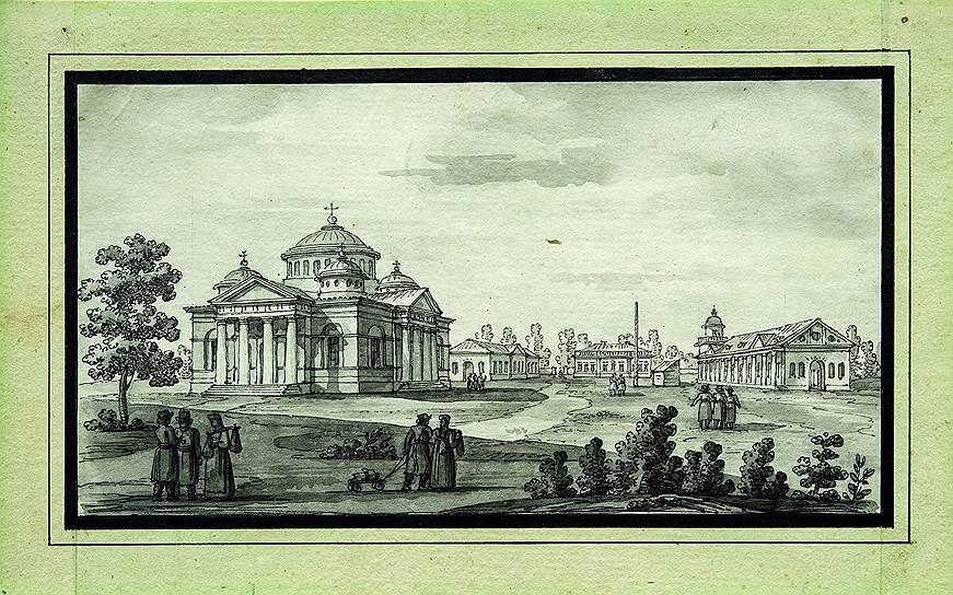 Джакомо Кваренги. Софийский собор в Царском Селе, конец 1780-х — начало 1790-х годов