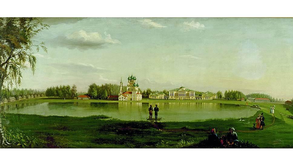 Николай Подключников. Усадьба Останкино графов Шереметевых, 1836 год