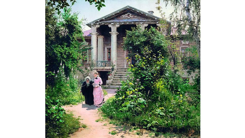 Василий Поленов. «Бабушкин сад», 1878 год