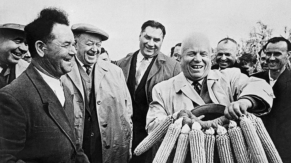 Визит Никиты Хрущева на Украину, 1963год
