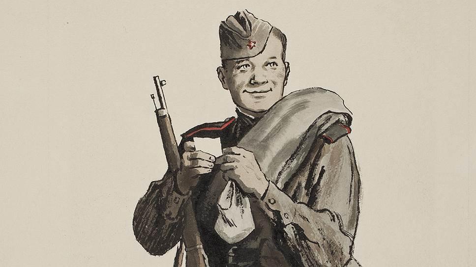картинка солдата героя в поэме общем виде наука