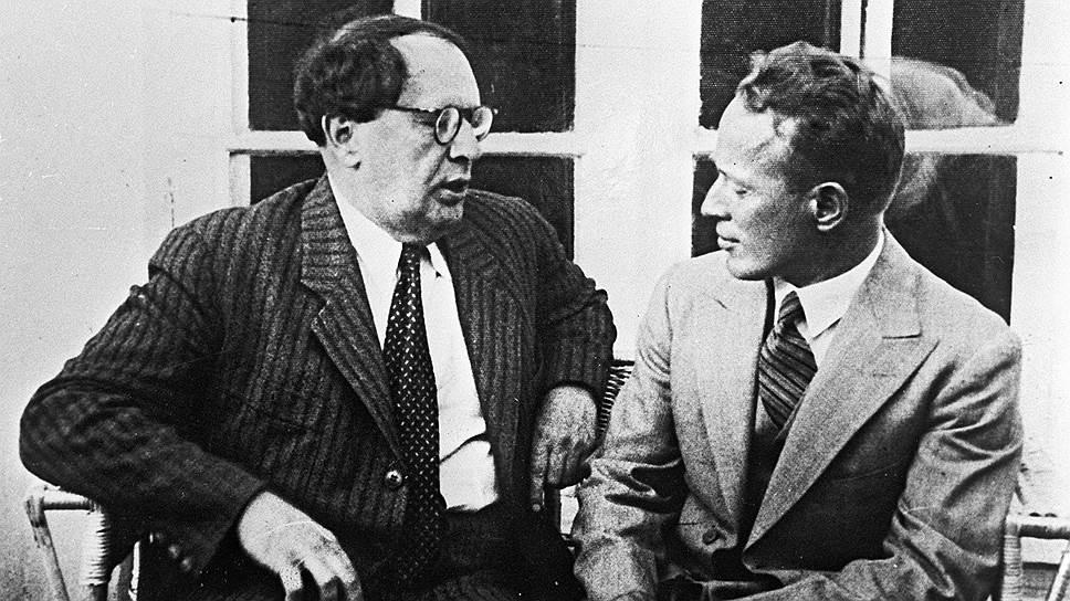 Алексей Толстой и Михаил Шолохов, 1934 год