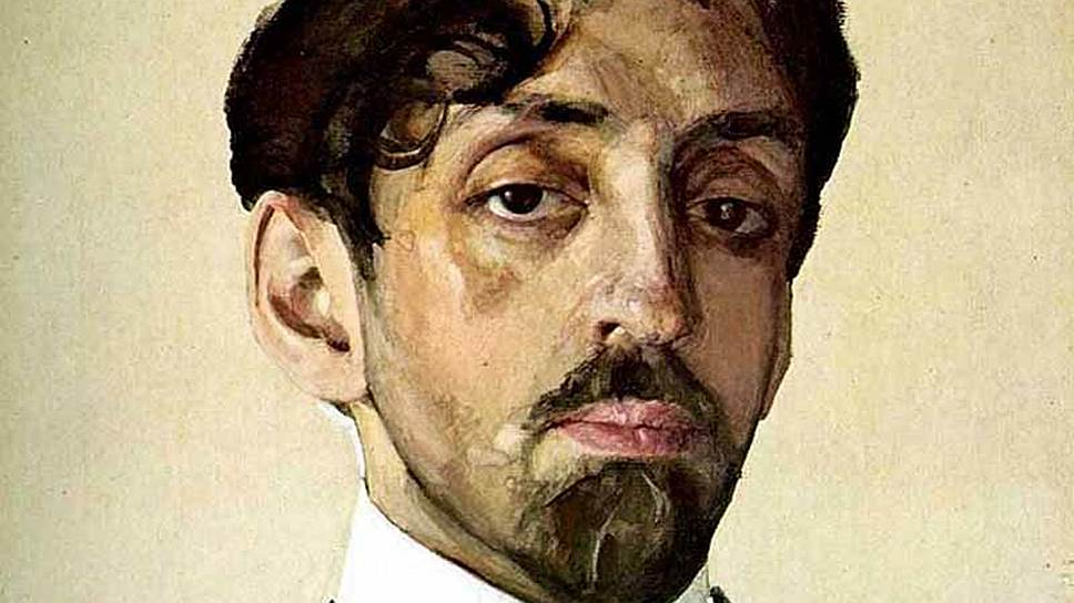 Константин Сомов. «Портрет Михаила Александровича Кузмина», 1909 год