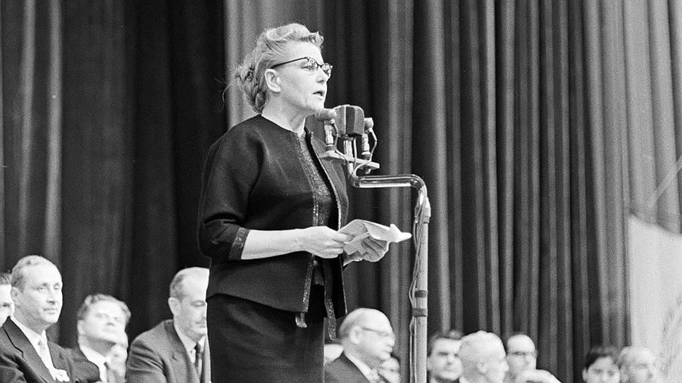 Екатерина Фурцева, 1961 год