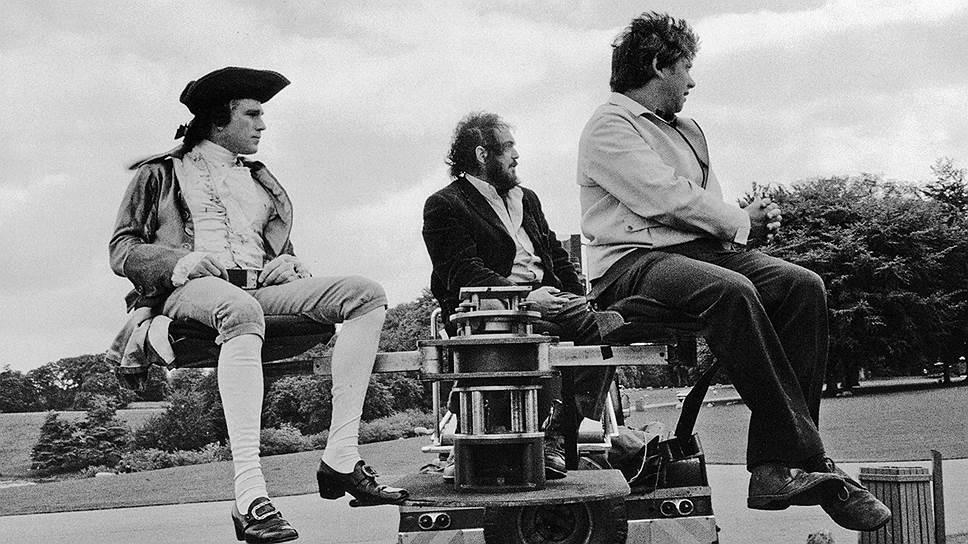 """Стэнли Кубрик на съемках """"Барри Линдона"""", 1975 год"""