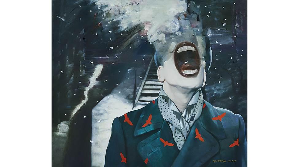 Виктор Сафонкин. «Первый снег», 2014год