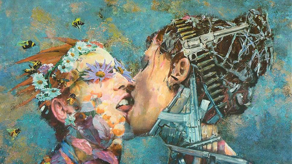 Александр Безель. «Поцелуй», 2012год