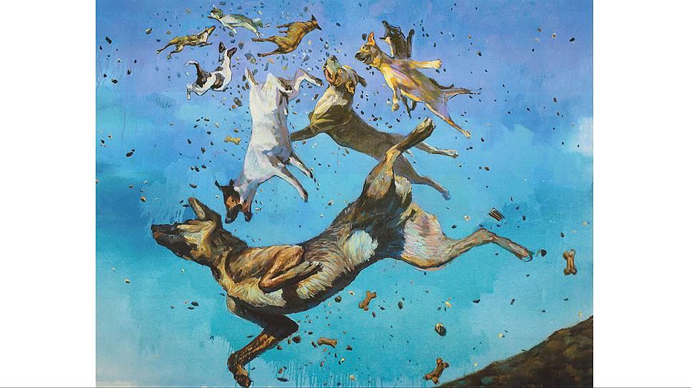 Александр Безель. «Собачий дождь», 2014год