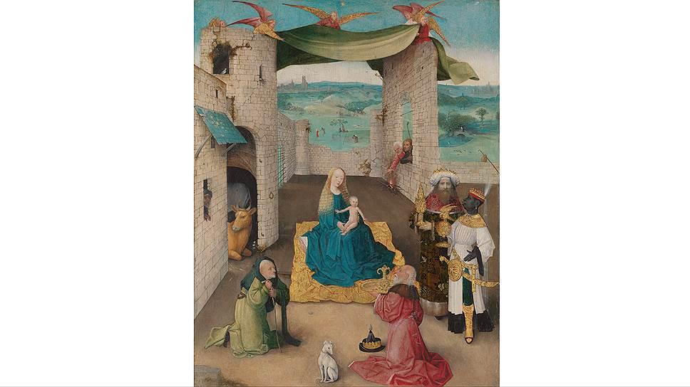 """""""Поклонение волхвов"""", 1470–1480 годы. Из коллекции Метрополитен-музея в Нью-Йорке"""