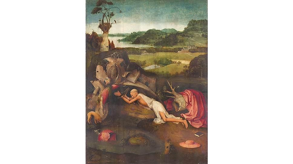 """""""Святой Иероним за молитвой"""", около 1500 года. Из коллекции Музея изящных искусств в Генте"""