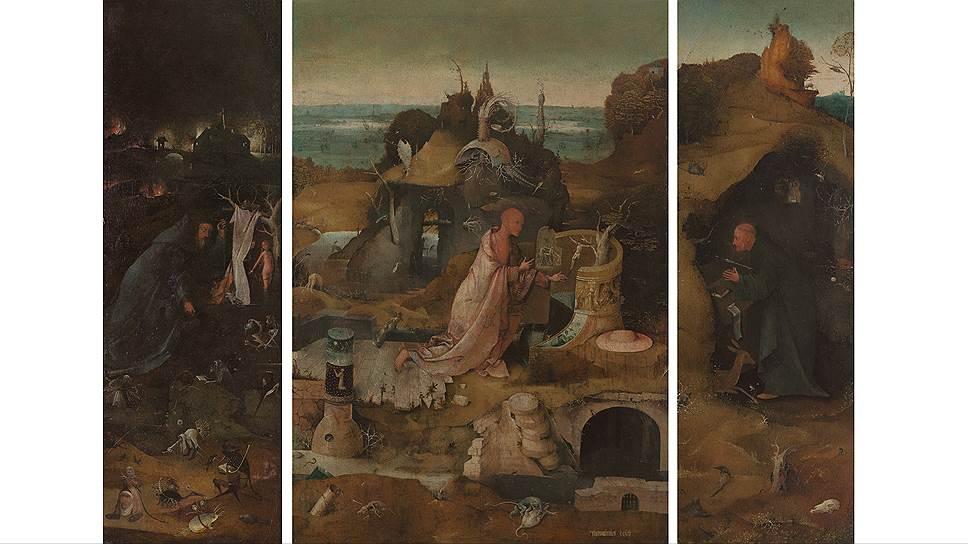 """""""Святые отшельники"""", 1495–1505 годы. Из коллекции Галереи Академии в Венеции"""