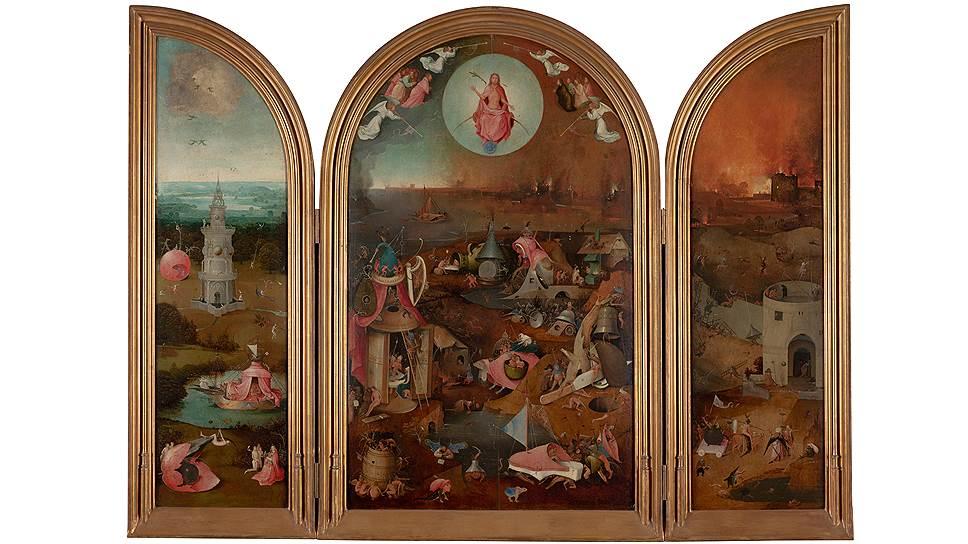 """Иероним Босх. """"Страшный суд"""", 1495-1505 годы"""