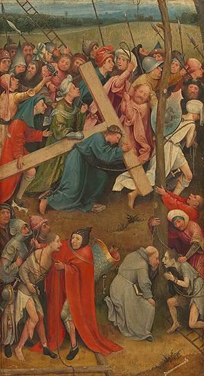 """""""Несение креста"""", 1490–1510 годы. Из коллекции Музея истории искусств в Вене"""