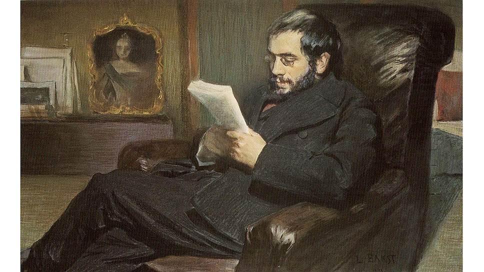 """Портрет Александра Бенуа"", 1898 год"