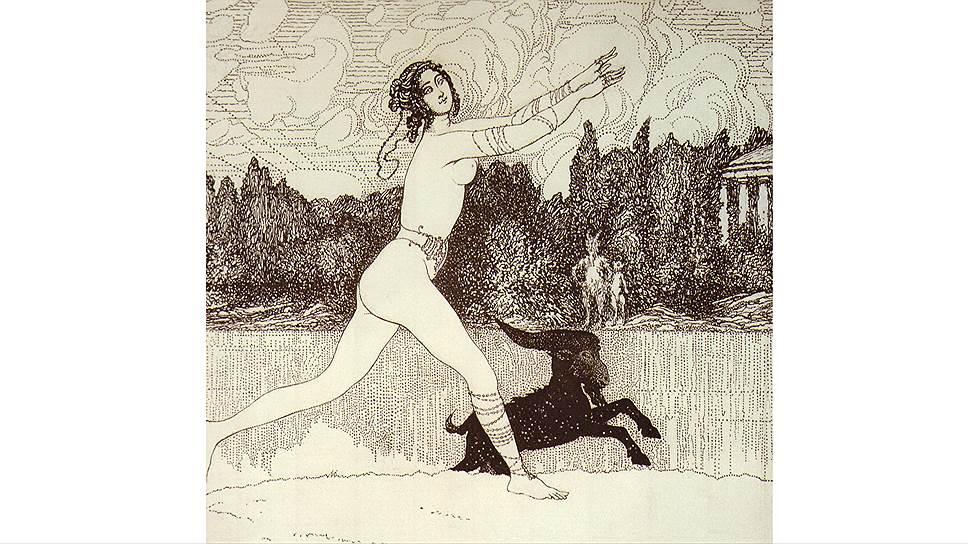 """""""Античное видение"""", 1906 год"""