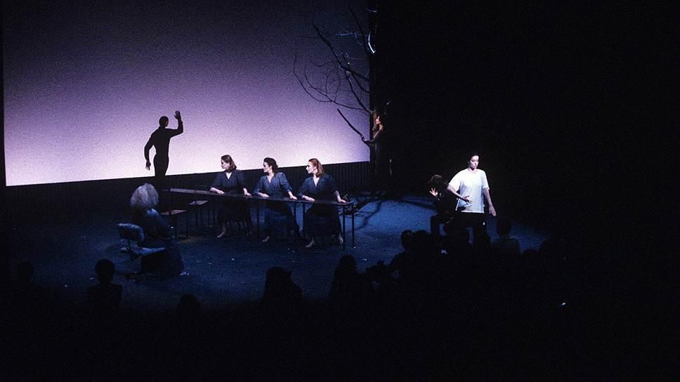 """""""Гамлет-машина"""", режиссер Роберт Уилсон, Нью-Йоркский университет, 1986 год"""
