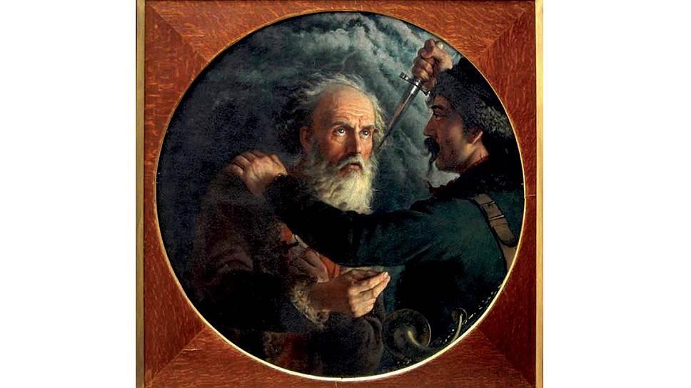 "Михаил Скотти. ""Подвиг Ивана Сусанина"", 1851год"