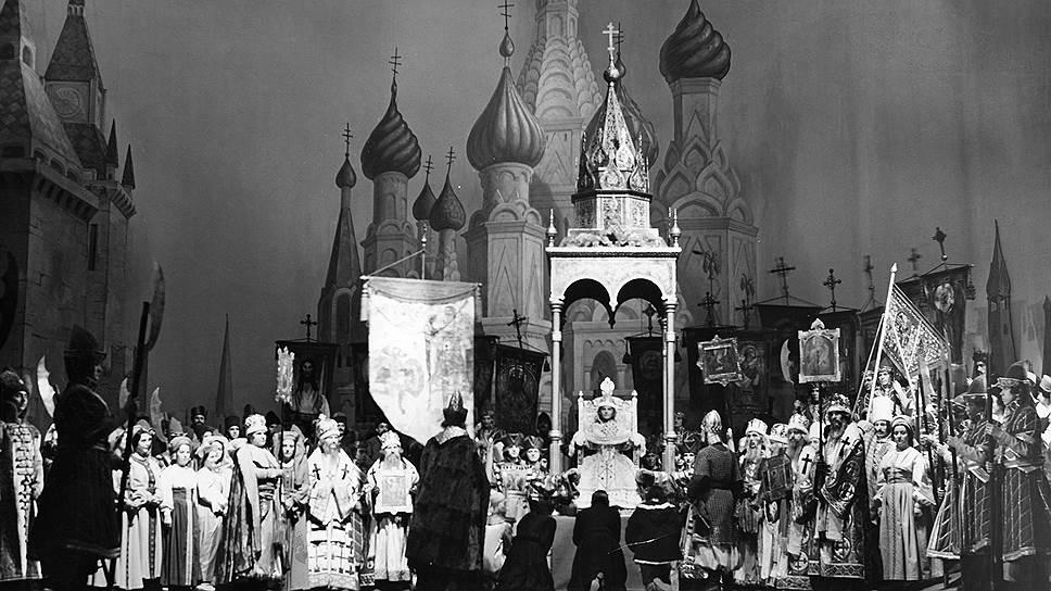 """""""Жизнь за царя (Иван Сусанин)"""" в постановке Берлинской государственной оперы, 1940год"""