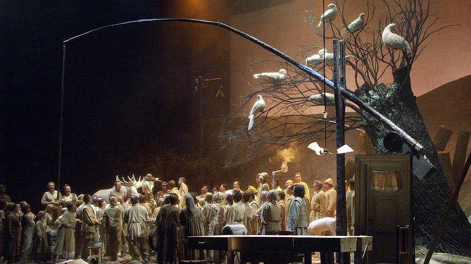 """""""Жизнь за царя"""" в постановке Мариинского театра, 2004 год"""