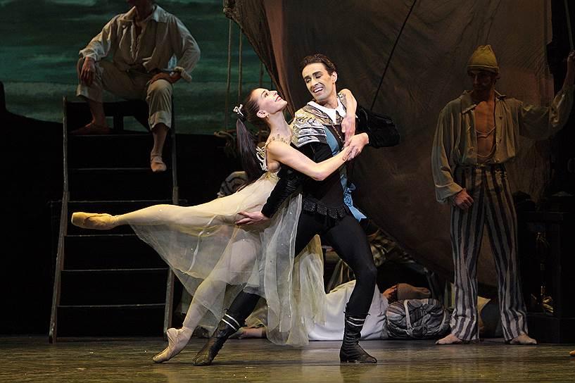 «Ундина». Хореограф Фредерик Аштон, Королевский балет Великобритании