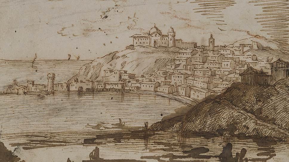 Джованни Пиранези. «Анкона», 1750-е годы