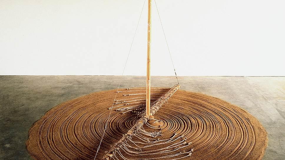 """Гюнтер Юккер. """"Песчаная мельница"""", 1970/2009годы"""