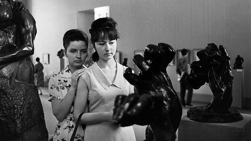 """Выставка """"Роден и его время"""", 1966год"""