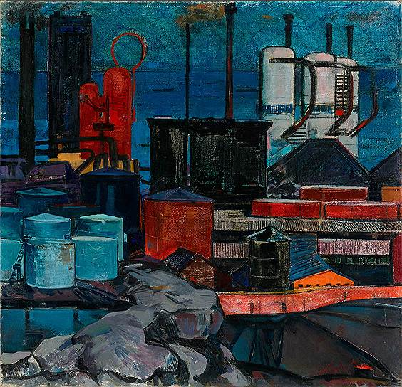 Надир Абдурахманов. «Индустриальный Баку», 1965год