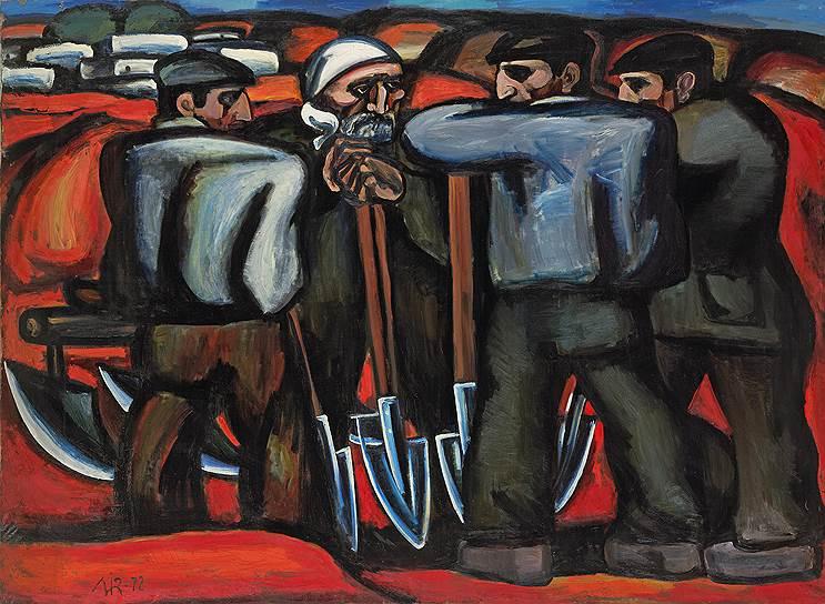 Мир Надир Зейналов. «Апшеронские сеятели», 1972год
