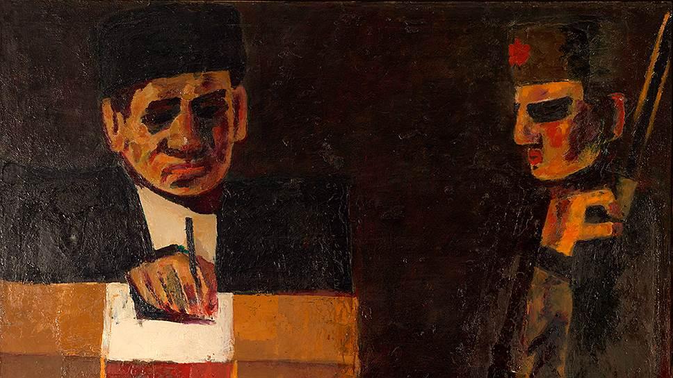 Ашраф Мурад. «Голосование», 1971год
