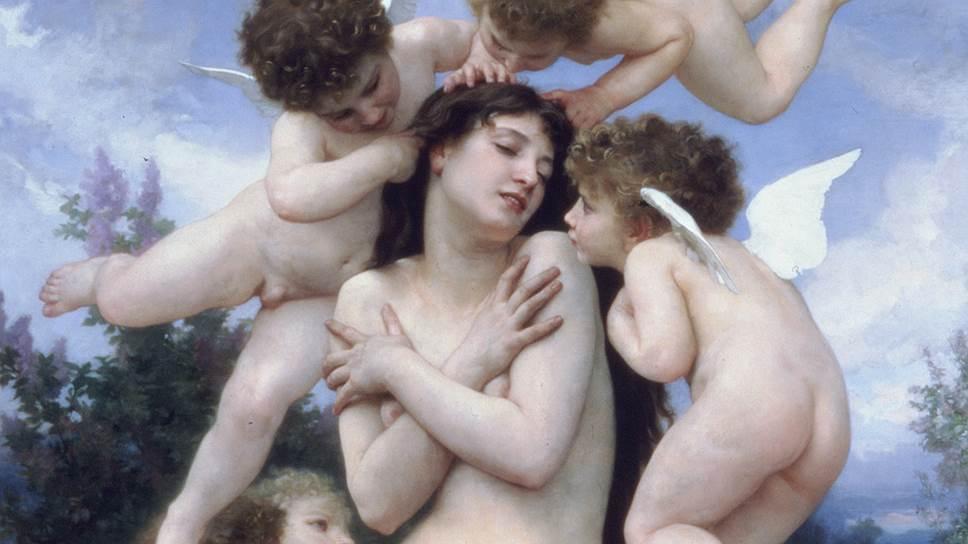 Вильям Бурго. «Возвращение весны», 1886 год