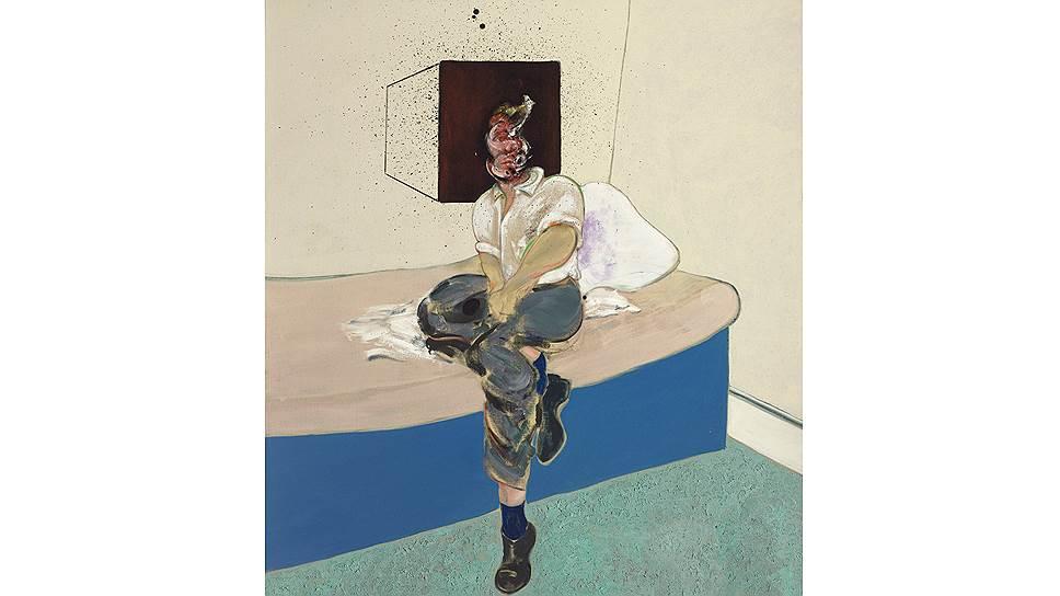Фрэнсис Бэкон. «Набросок к автопортрету», 1964 год