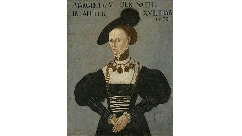 «Маргарете фон дер Заале», копия c картины Ганса Брозамера, XVII век