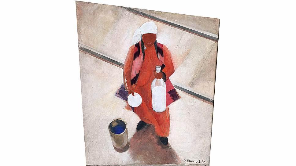 Валентин Юстицкий. «Молочница», 1923 год. «До востребования. Часть 2» в Еврейском музее и центре толерантности
