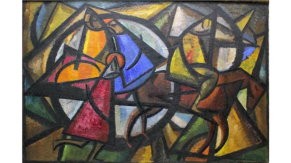 Александр Волков. «Арба», 1924 год. «Сокровища Нукуса» в ГМИИ Пушкина