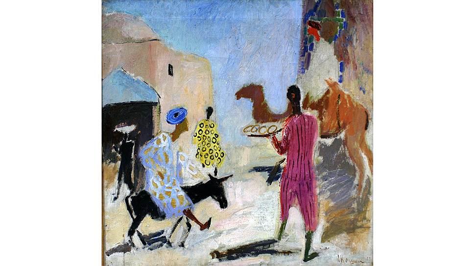 Надежда Кашина. «У Шир-Дора», 1928 год. «Сокровища Нукуса» в ГМИИ Пушкина