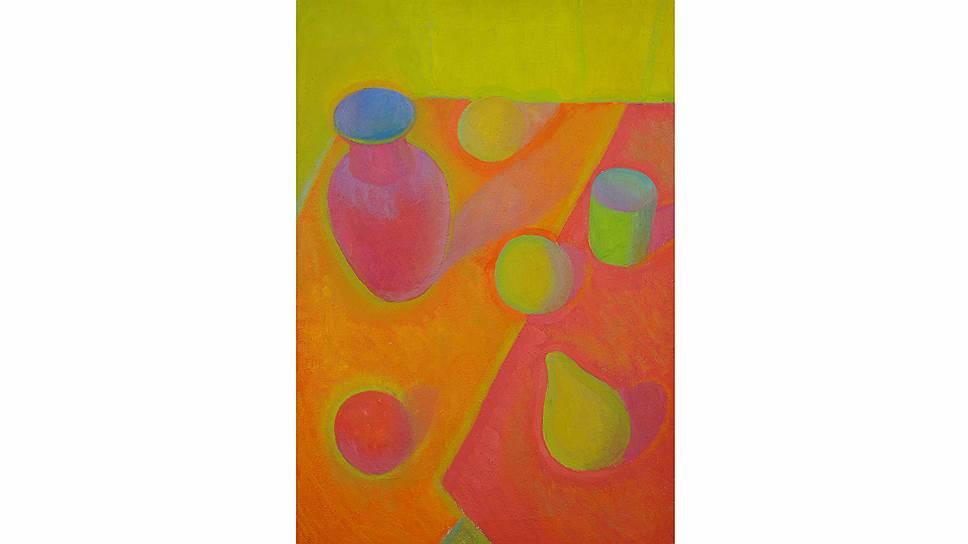 Порфирий Фальбов. «Красный натюрморт», 1966-67 годы. «В защиту радуги» в Музее Востока