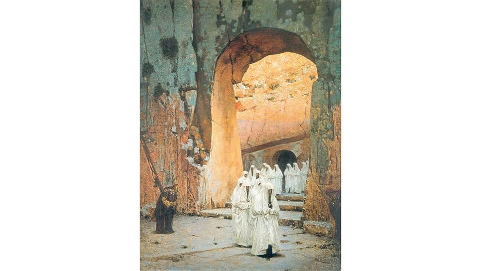 «В Иерусалиме. Царские гробницы», 1884год