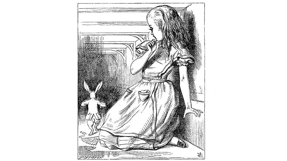 Джон Тенниел. Иллюстрация к «Алисе в Стране чудес» Льюиса Кэрролла, 1865 год