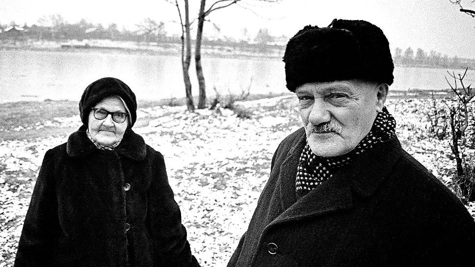 Евгений Кропивницкий и Ольга Потапова. Фото Игоря Пальмина