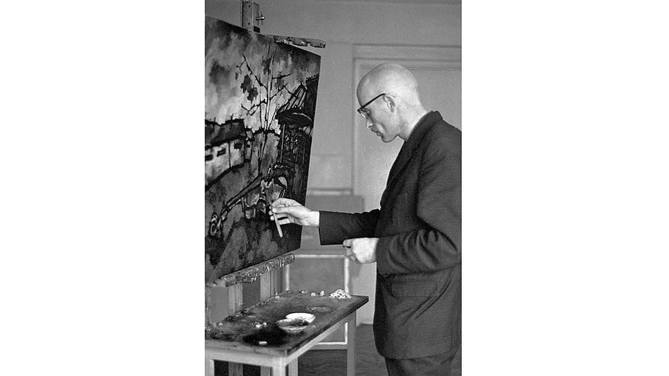 Оскар Рабин. «Помойка №8», 1958год