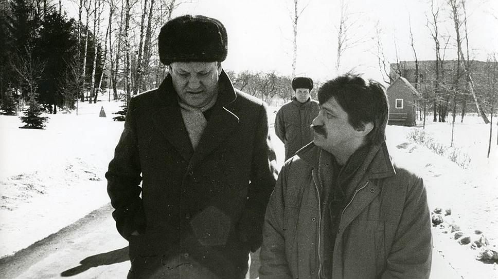 Борис Ельцин и Александр Сокуров, 19декабря 1990года