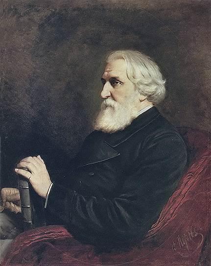 Василий Перов. «Портрет Ивана Сергеевича Тургенева», 1872год