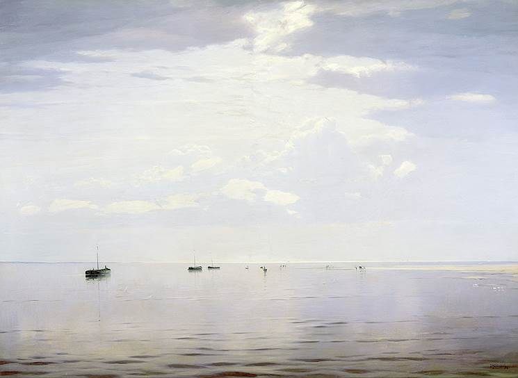 Николай Дубовской. «На Волге», 1892год