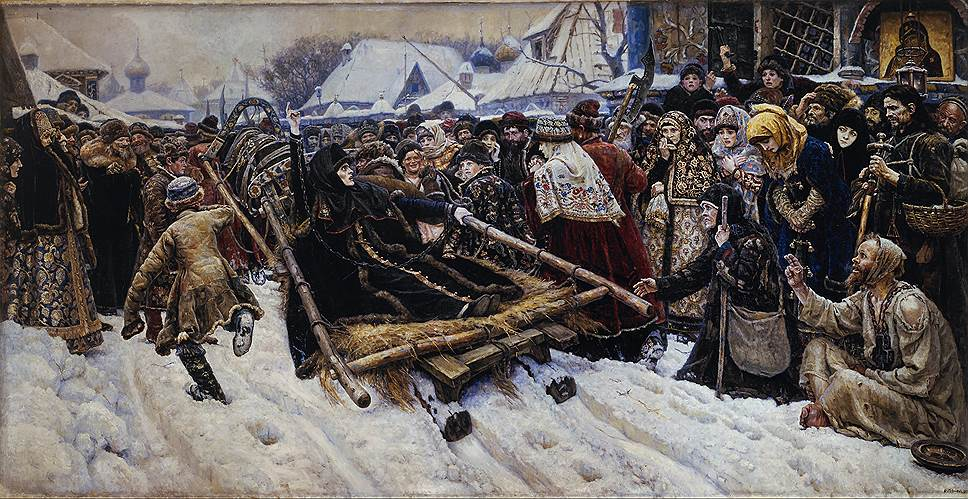 Василий Суриков. «Боярыня Морозова», 1887год