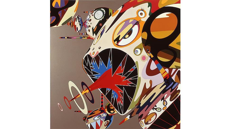 «Оммаж Фрэнсису Бэкону (Этюд к портрету Изабель Росторн)», 2002год